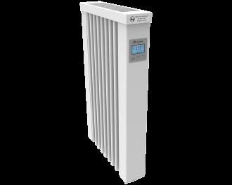 Thermotec elektrische radiator 650 watt, met ingebouwde thermostaat. Geschikt voor ruimtes tot 16 m3 in een ongeïsoleerde woning tot bouwjaar 1975 met energielabel D of lager, of 22 m3 in een matig geïsoleerde woning tot bouwjaar 2005 met energielabel C, of 30 m3 in een goed geïsoleerd woning tot bouwjaar 2021 met energielabel B of hoger.