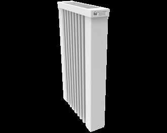 Thermotec elektrische radiator 650 watt, zonder ingebouwde thermostaat. Geschikt voor ruimtes tot 16 m3 in een ongeïsoleerde woning tot bouwjaar 1975 met energielabel D of lager, of 22 m3 in een matig geïsoleerde woning tot bouwjaar 2005 met energielabel C, of 30 m3 in een goed geïsoleerd woning tot bouwjaar 2021 met energielabel B of hoger.