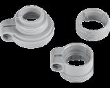 Danfoss radiator adapter set waarmee een slimme thermostaatknop gemonteerd kan worden op Danfoss RAN, RA, RAV en RAVL afsluiters.