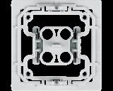 Met deze Elso wipvlak adapter kunnen Elso wipvlakken en afdekramen uit de serie Joy toegepast worden op Homematic IP schakelaars en dimmers.