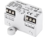 De Homematic IP schakel module voor jaloezieën en lamellen kan een motor tot 500 Watt of 2,2 Ampere schakelen.