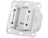 De Homematic IP inbouw voeding is bedoeld voor sensoren zoals de Homematic IP thermostaat, bewegingsmelder of draadloze drukknop.