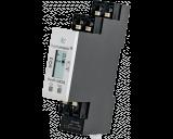 De Homematic IP 1 kanaals DIN-rail schakelactor kan tot maximaal 2300 Watt / 10 Ampere schakelen. Het display toont de actuele status van het relais.