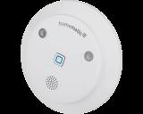 De Homematic IP sirene alarmeert als er inbraak gedetecteerd wordt door een Homematic IP bewegingsmelder of raam- en deursensor.