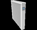 Thermotec elektrische radiator 1300 watt, met ingebouwde thermostaat. Geschikt voor ruimtes tot 31 m3 in een ongeïsoleerde woning tot bouwjaar 1975 met energielabel D of lager, of 43 m3 in een matig geïsoleerde woning tot bouwjaar 2005 met energielabel C, of 59 m3 in een goed geïsoleerd woning tot bouwjaar 2021 met energielabel B of hoger.