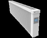 Thermotec liggende elektrische radiator 1600 watt, met ingebouwde thermostaat. Geschikt voor ruimtes tot 38 m3 in een ongeïsoleerde woning tot bouwjaar 1975 met energielabel D of lager, of 53 m3 in een matig geïsoleerde woning tot bouwjaar 2005 met energielabel C, of 73 m3 in een goed geïsoleerd woning tot bouwjaar 2021 met energielabel B of hoger.